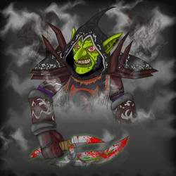 Razbonk the Goblin Rogue by GhettoMole