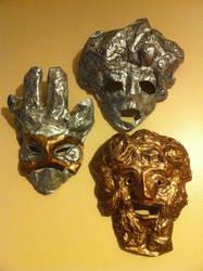 Masks of Pinwheel by GhettoMole
