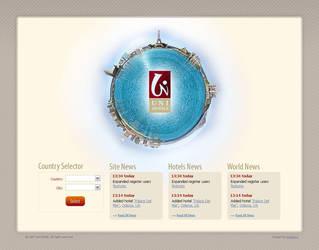 Uni hotels web-site by viruzzz