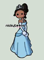 Disney Princess: Tiana by NickyToons