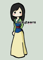 Disney Princess: Mulan by NickyToons