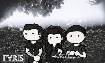 PVRIS by NickyToons