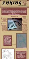 Traditional Inking Tutorial by Napalm-Otaku
