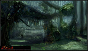 Zydeco: Bat nest by Sindonic