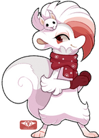#173 Perfaunt - Eurasian Red Squirrel -AUCTION- CL by Sindonic