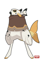 #149 Bavom - Pirate - Dog Face Puffer -SALE - CLOS by Sindonic