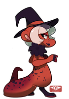 #386 Perfaunt - Red Salamander -AUCTION- CLOSED by Sindonic