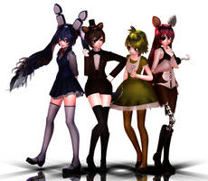 Five Nights At Meiko's -Cast- by PointlessCosplay