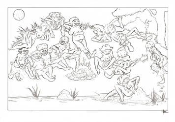 Nudist Friends by ben1804