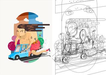 Fatman on Car by timelikeit