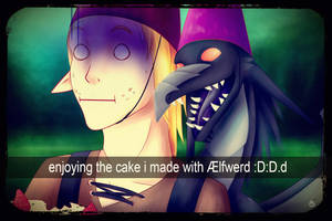 Meant to celebrate a b-day.. by Unistonen