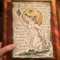 Even a man... by AstaraBriarart