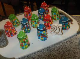 Dalek Cakes by superstar727