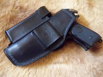Beretta leather holster by gevar