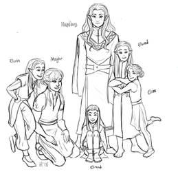 LotR/S: found family by Houkakyou