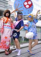 FFX-2 :: Omatsurishi by gk-reiko