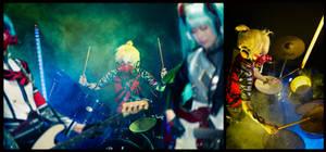 :: Unhappy Refrain - Drummer :: by gk-reiko