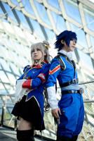 Code Geass Akito The Exiled - Europia United Duo by gk-reiko