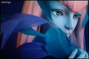 Blue Whril I by MiniVega