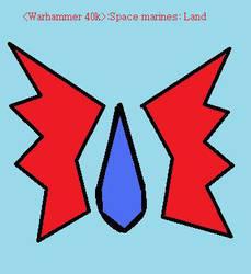 warhammer space marines land by Chamelio2