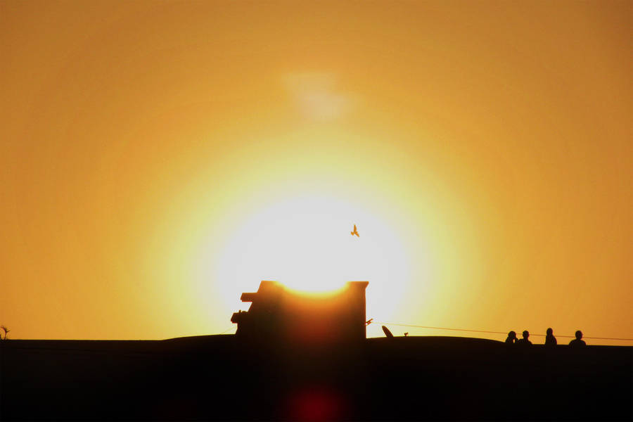 Sun and Silhouette 4 by ritwik-mango