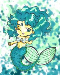 Sailor Neptune Mermaid by kwessels