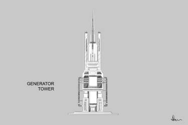 Generator Tower by ANNAS0R