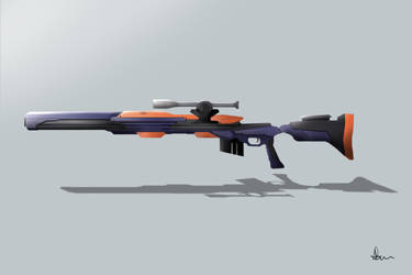 Sci-fi Rifle by ANNAS0R