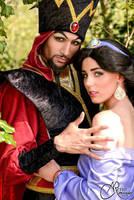 Jafar cosplay from Aladdin by Aokiji13