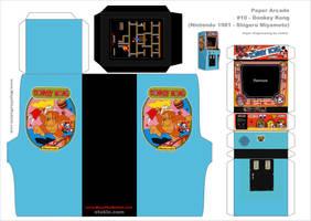 Donkey Kong Arcade template by AUSTINMEADOWS