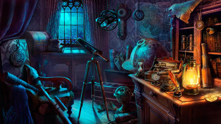 Room astrologer by abzac666