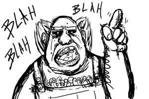 Blah Blah Man by tRickityhouses