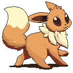 Free to use Eevee Journal doll by Entin
