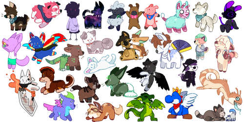 Tinies Pixel batch! by Entin