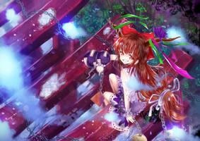 Ibuki Suika Fanart :D by Daikazoku63