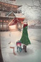 A Winter Day - Speedpaint #7 by Daikazoku63