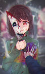 So this is the end ? - Undertale Speedpaint #8 by Daikazoku63
