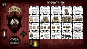 Don't Starve Calendar Guide - Nomadic by ElderWraith