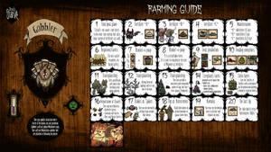 Don't Starve Calendar Guide - Farming Guide by ElderWraith