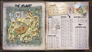 The Island Map for Ark Survival Evolved by ElderWraith