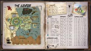 The Center Map for Ark Survival Evolved by ElderWraith