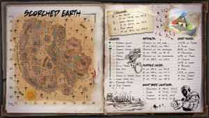 Scorched Earth Map for Ark Survival Evolved by ElderWraith