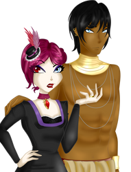 Nephtyris and Alessio - Color by ShadowFleur