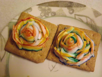 Rianbow Roses For Nikki 001 by yellowribonsky