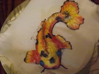 fondant koi fish no 2 by yellowribonsky