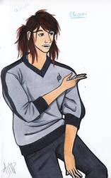 Character Redesign: Okami Evans by ObnoxiouslyAlyks