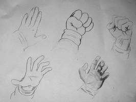 Class Projects - Hands by JustinGreene