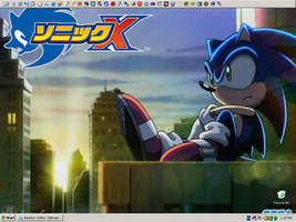Sonic X Theme for NeoDreamcast by JustinGreene