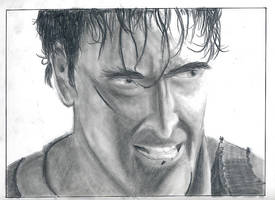 DF - Portraits -Bruce Campbell by JustinGreene
