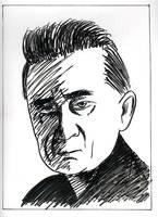 DF - Portraits - Johnny Cash by JustinGreene